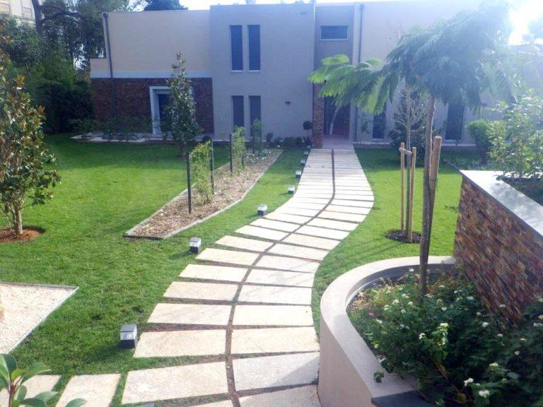 Accès jardins