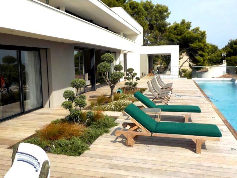Terrase piscine