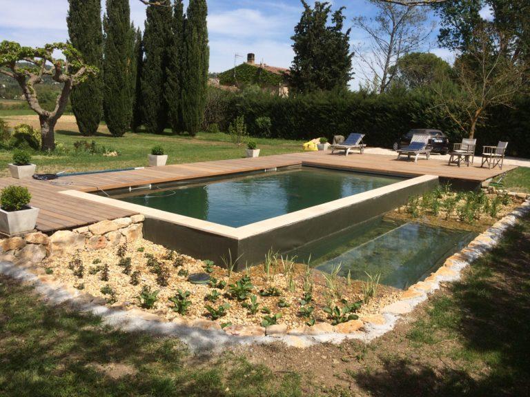 bassin jardin contemporain